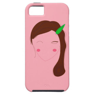 Asia woman pink wellness girl iPhone 5 cases