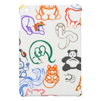 Asian Animals! iPad Mini Case