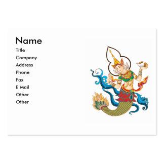 Asian Art Goddess Business Card Template