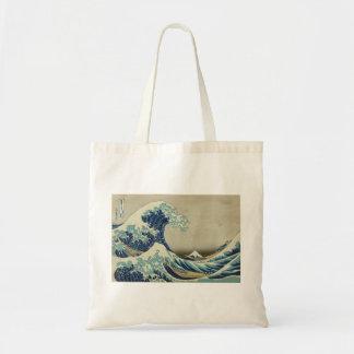 Asian Art - The Great Wave off Kanagawa Budget Tote Bag