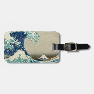 Asian Art - The Great Wave off Kanagawa Luggage Tag