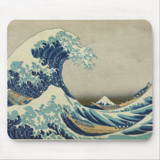 Asian Art - The Great Wave off Kanagawa Mouse Pad