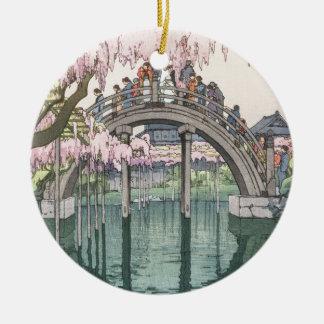 Asian Art Vintage Oriental Classic Masterpiece Ceramic Ornament