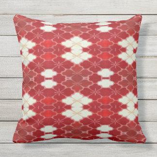 Asian Cherry Throw Pillow