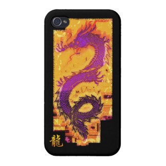 Asian, Chinese,Mythical Dragon, Year of the Dragon Cases For iPhone 4