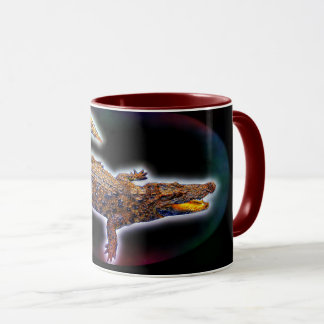 Asian Crocodile Mug