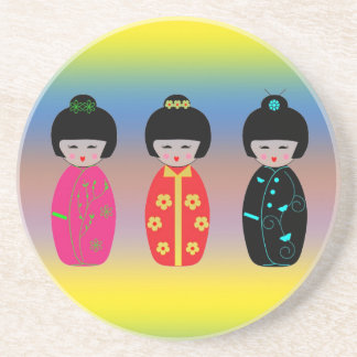 Asian Dolls Coaster