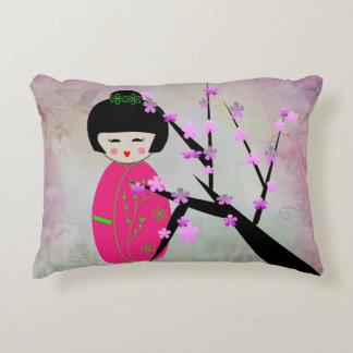 Asian Dolls Decorative Cushion