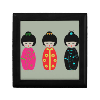 Asian Dolls Gift Box