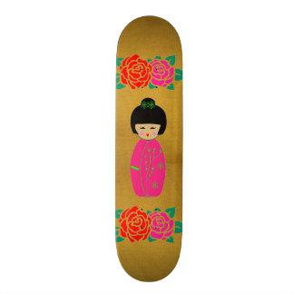 Asian Dolls Skateboard