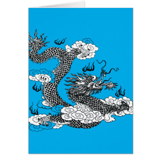 Asian Dragon Card