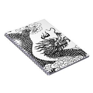 Asian Dragon Notebook
