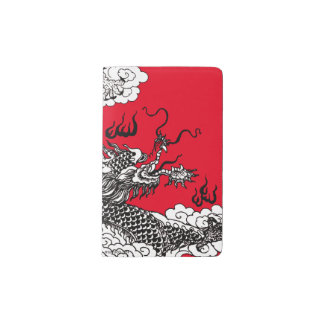 Asian Dragon Pocket Moleskine Notebook