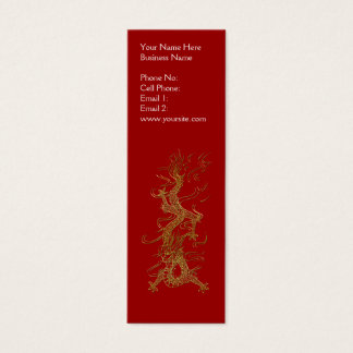 ASIAN DRAGON Profile or Business Cards