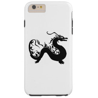 Asian Dragon Silhouette Tough iPhone 6 Plus Case