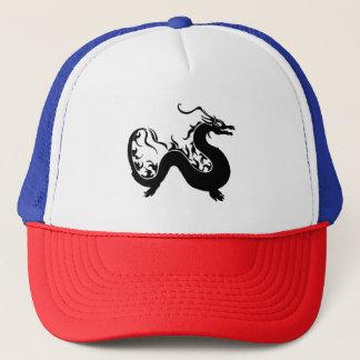Asian Dragon Silhouette Trucker Hat