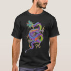 Asian Dragon Tattoo Shirt