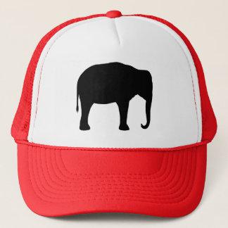 Asian Elephant Silhouette Trucker Hat