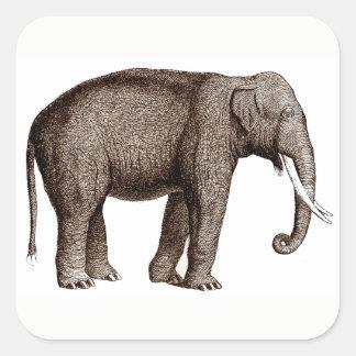 Asian Elephant Stickers