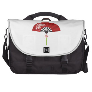 Asian Fan Laptop Messenger Bag