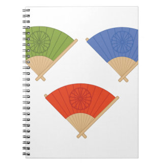 Asian Fans Note Books
