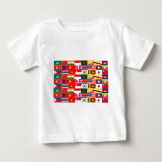 Asian Flags Baby T-Shirt