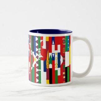 Asian Flags Mug