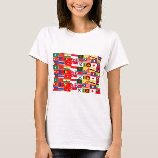 Asian Flags T-Shirt