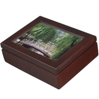 Asian Garden 1 Keepsake Box