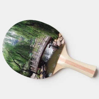 Asian Garden 1 Ping Pong Paddle