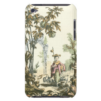 Asian Garden with Woman and Animals iPod Touch Covers