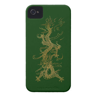 Asian Gold Dragon Fantasy Mythical iPhone Case iPhone 4 Case