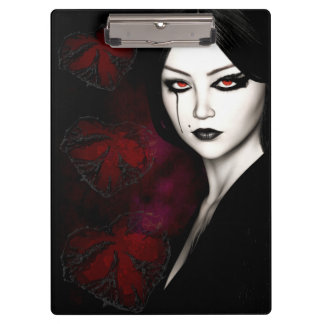 Asian gothic clipboard