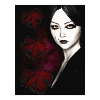 Asian gothic flyer