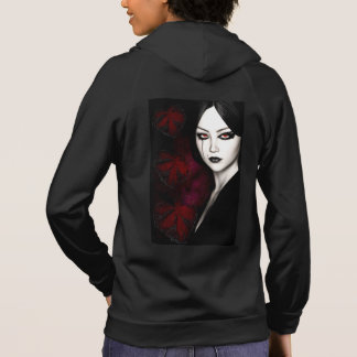 Asian gothic hoodie