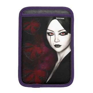Asian gothic iPad mini sleeve