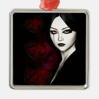 Asian gothic metal ornament