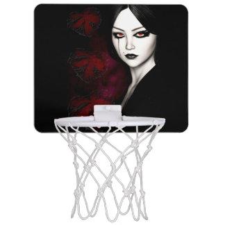 Asian gothic mini basketball hoop