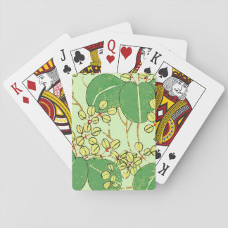 Asian Jaopanese Art Print Design Pattern Poker Deck