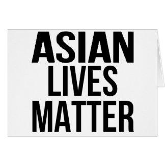 Asian Lives Matter Card