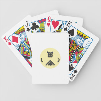 Asian looking design bicycle playing cards
