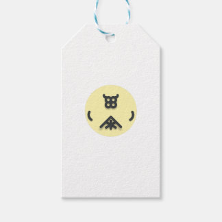 Asian looking design gift tags