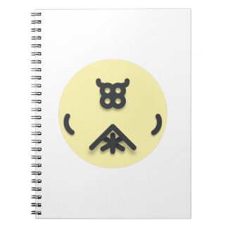 Asian looking design notebooks