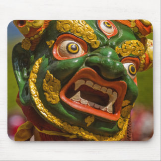 Asian Masked Dancer Mouse Pad