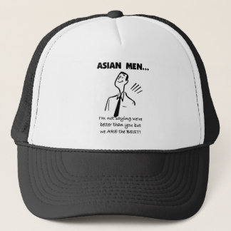 Asian Men Trucker Hat