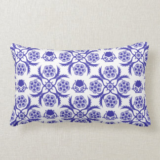 Asian/Middle Eastern pattern (Blue) Cushion