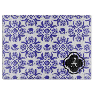Asian/Middle Eastern pattern (Blue) Cutting Boards