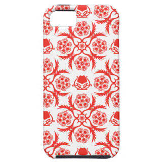 Asian/Middle Eastern pattern (Red) iPhone 5 Cover