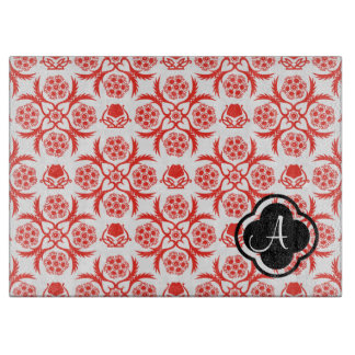 Asian/Middle Eastern pattern (Red) Cutting Boards