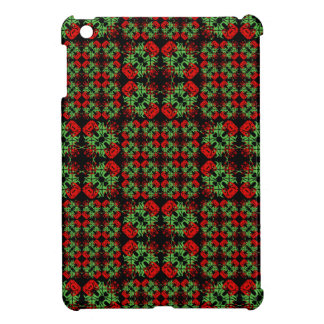 Asian Ornate Patchwork Pattern iPad Mini Case